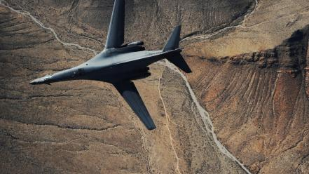 Aircraft aviation b1 lancer wallpaper