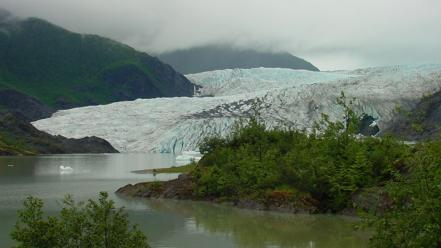 Alaska ice glacier Wallpaper
