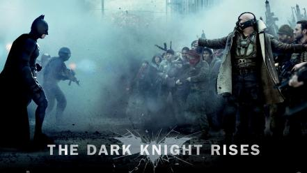 Batman movies action bane the dark knight rises wallpaper