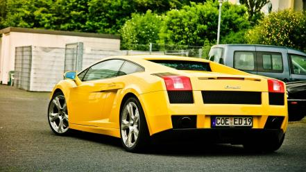 Cars lamborghini vehicles gallardo wallpaper