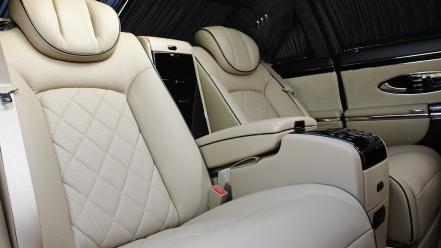 Cars zeppelin maybach car interiors 2010 luxury wallpaper