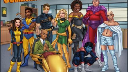 Comics x-men funny parody community television wallpaper