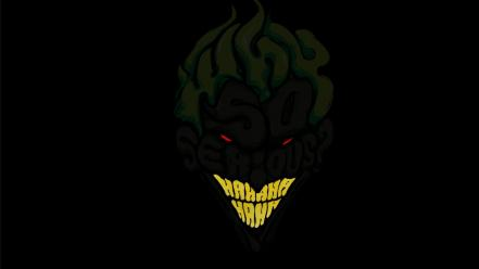 Devil batman dark knight why so serious? wallpaper