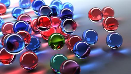 Glass Balls wallpaper