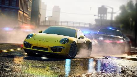 Streets porsche need for speed most wanted wallpaper