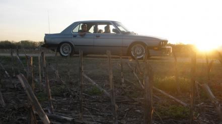 Sunset bmw e28 wallpaper