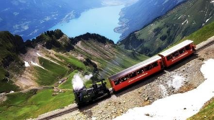 Train Climbing Wallpaper