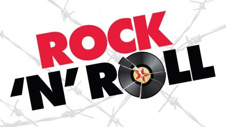Love music rock n roll white background wallpaper