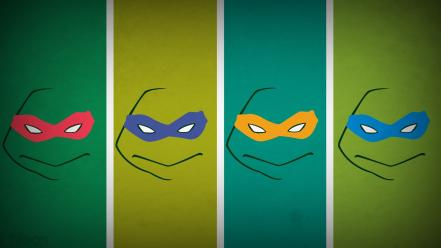 Ninja turtles michelangelo donatello leonardo raphael blo0p wallpaper