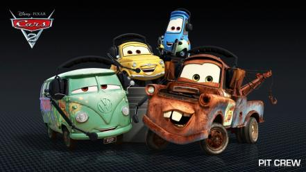 Pit Crew In Cars 2 Hd Wallpaper