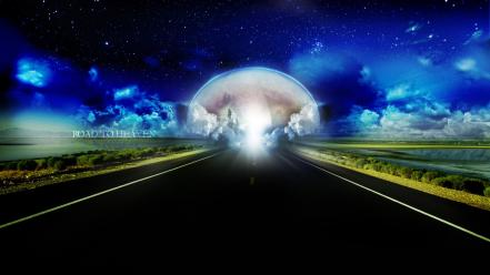 Road To Heaven Hd wallpaper