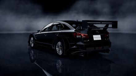 Video games lexus isf gran turismo 5 ps3 wallpaper