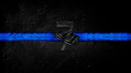 Windows 7 Dirty Dark Hd Wallpaper
