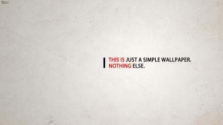 Deviantart minimalistic text typography Wallpaper