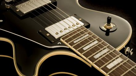 Guitars instruments music wallpaper