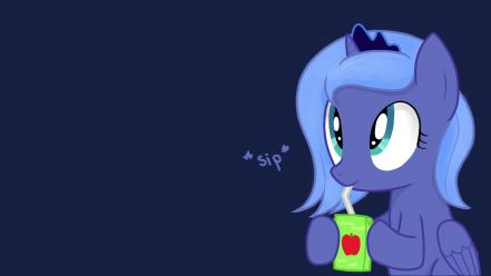 Is magic princess luna juice box ponies wallpaper