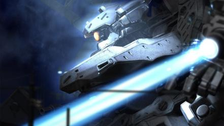 Armored core science fiction technology wallpaper