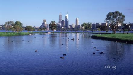 Australia perth landscapes water wallpaper