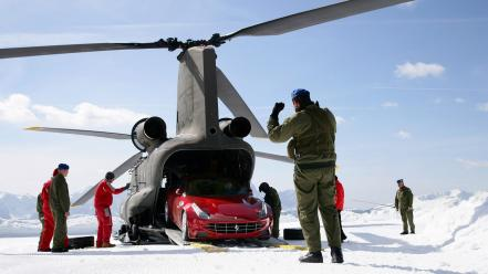 Ferrari ff army cars vehicles Wallpaper