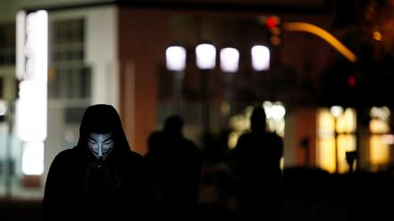 Guy fawkes oakland occupy wall street politics wallpaper