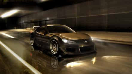 Toyota ft86 cars concept art drawings wallpaper