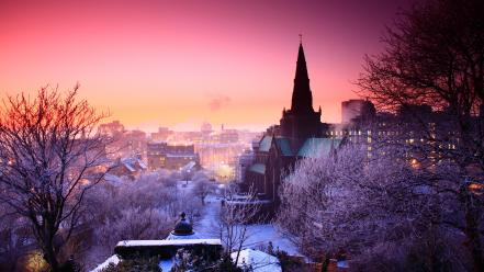 Churches cityscapes urban wallpaper