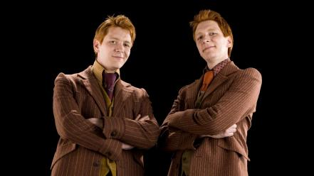 Fred weasley george harry potter james phelps oliver wallpaper