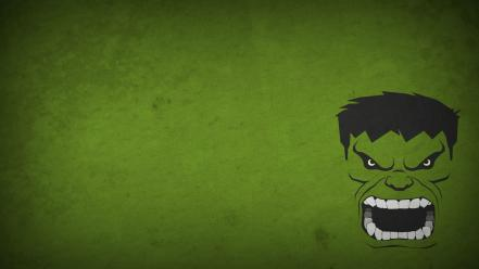 Character marvel comics blo0p green background minimalistic wallpaper