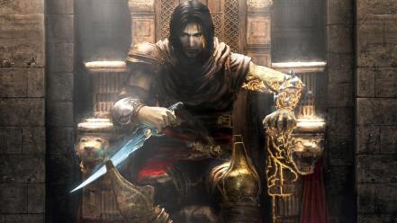 Prince of persia the two thrones daggers games wallpaper