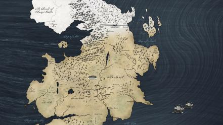 A song of ice and fire westeros maps wallpaper
