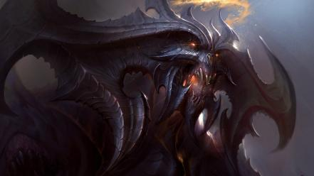 Blizzard entertainment diablo iii artwork demons wallpaper