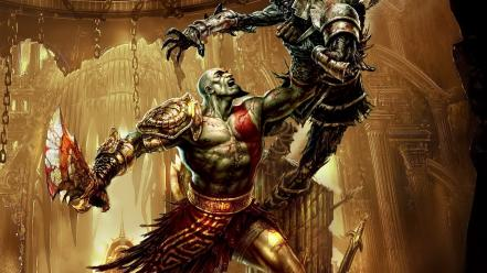 God of war 3 video games wallpaper