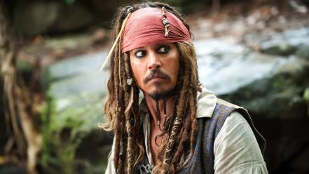 Johnny depp pirates of the caribbean men wallpaper