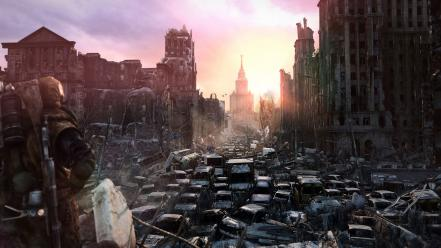 Metro last light apocalypse destruction games Wallpaper