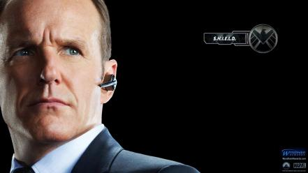 Phil coulson shield the avengers movie faces wallpaper