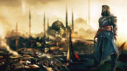 Assassins creed istanbul mosques video games Wallpaper