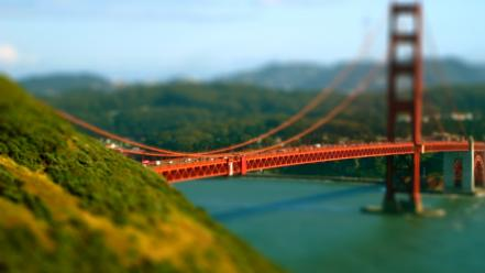 Golden gate bridge san francisco bridges landscapes rivers wallpaper