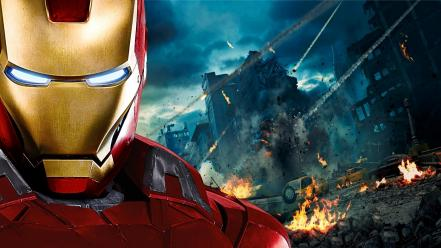 Iron man the avengers movie movies wallpaper