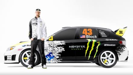Ken block subaru impreza wrx sti cars wallpaper