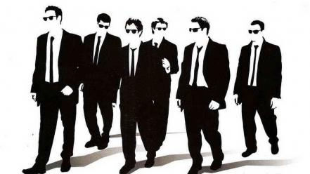 Reservoir dogs silhouettes wallpaper