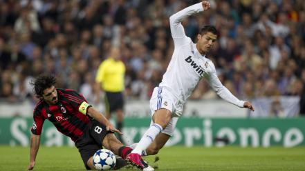 Ac milan cristiano ronaldo real madrid football soccer wallpaper