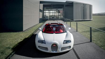Bugatti veyron grand sport cars front supercars Wallpaper