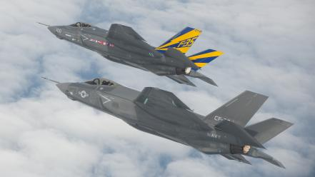 F35 flight navy wallpaper