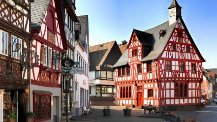 Germany architecture cityscapes towns wallpaper