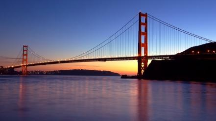 Golden gate bridge san francisco usa bridges landscapes wallpaper