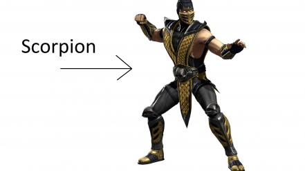 Mortal kombat scorpions wallpaper