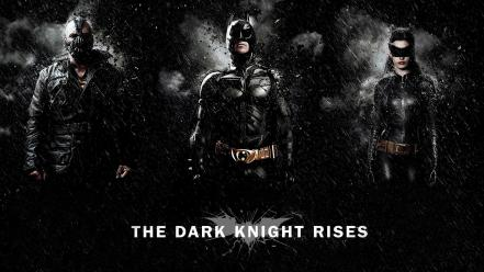 Bane batman the dark knight rises catwoman superheroes wallpaper