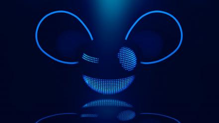 Canada dj deadmau5 blue logos Wallpaper