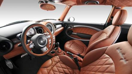 Italian cars interior job mini cooper Wallpaper
