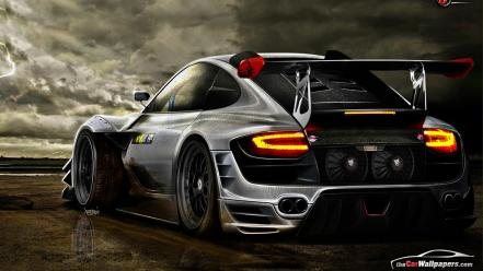 Porsche 911 carrera black cars wallpaper